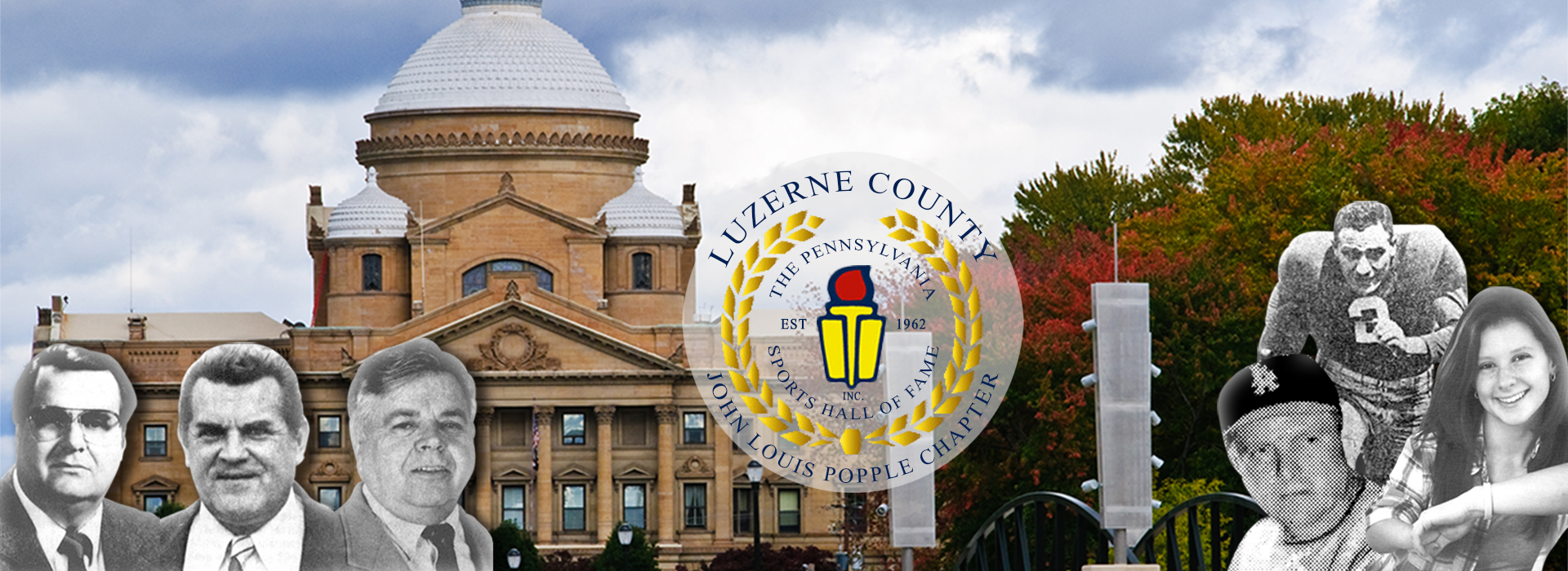 luzerne county courthouse with logo