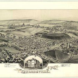 Edwardsville, Luzerne County, PA - 1892