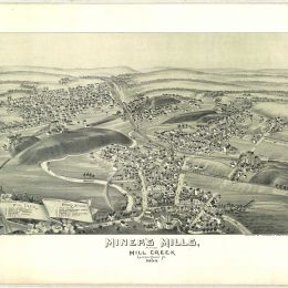 Miner's Mills, and Mill Creek, Luzerne County, Pennsylvania - 1892