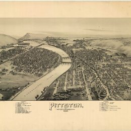 Pittston and West Pittston, Luzerne County, PA - 1892